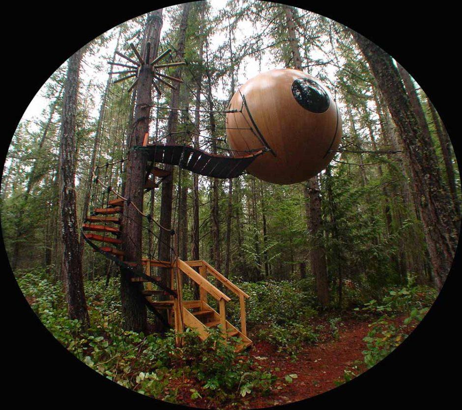 25 Cabanas En Los Arboles Donde Te Hubiera Gustado Vivir De Mayor - Cabaas-de-madera-en-arboles
