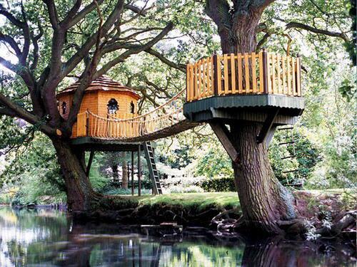 25 caba as en los rboles donde te hubiera gustado vivir - Cabanas de madera en arboles ...