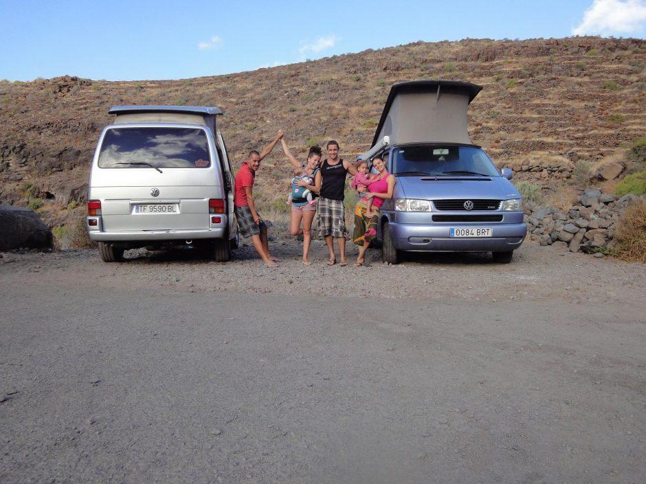 Las Islas Canarias En Furgoneta Con Mis Hijas Y Al Natural