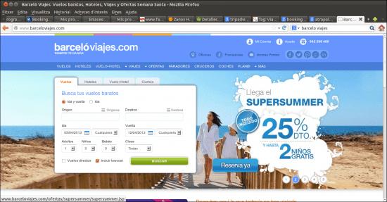 Diez webs de viajes que deber as conocer for Oficina barcelo viajes