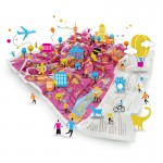 Mapas Crumpled City Junior, que divertido es viajar !
