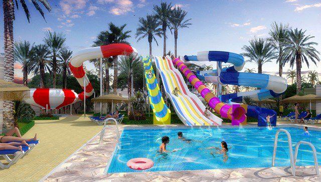 Reserva online los mejores hoteles familiares - Hotel piscina toboganes para ninos ...