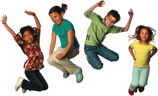 Niños libertad de movimiento