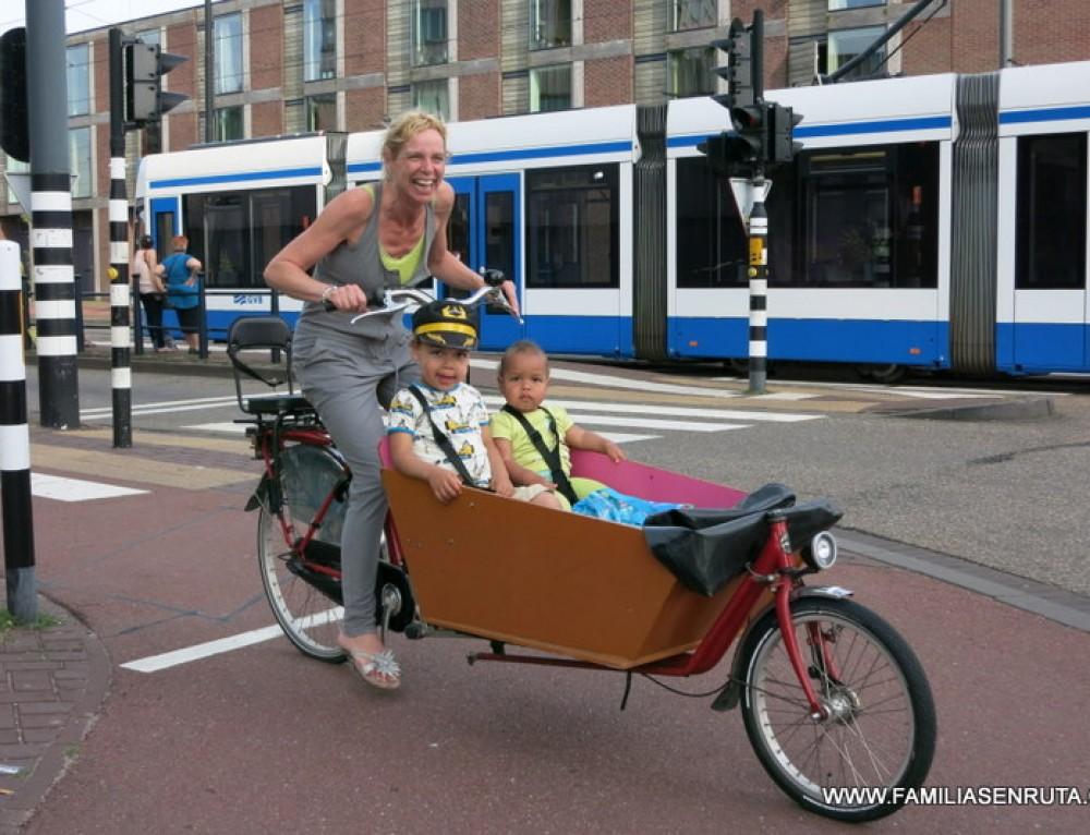 Amsterdam con niños en doce planes para disfrutar todo el año