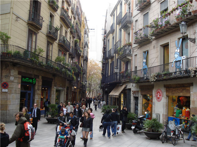 El born barcelona familias en ruta for Hoteles familiares en barcelona ciudad