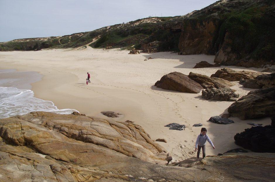 malho una de las tantas playas vrgenes del litoral del alentejo