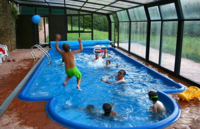 Especial 101 casas rurales para ir con ni os - Casas con piscina en galicia ...