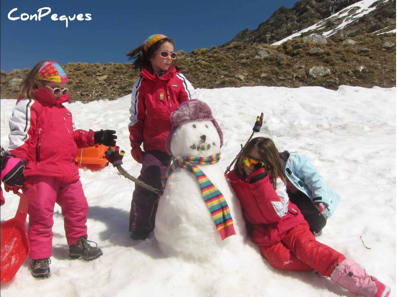 Sierra Nevada Nieve Y Diversion Para Todos A Un Paso De Granada