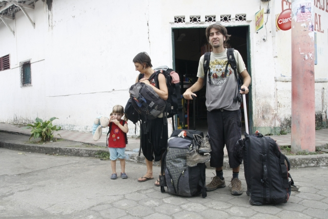 hacer las maletas con niños