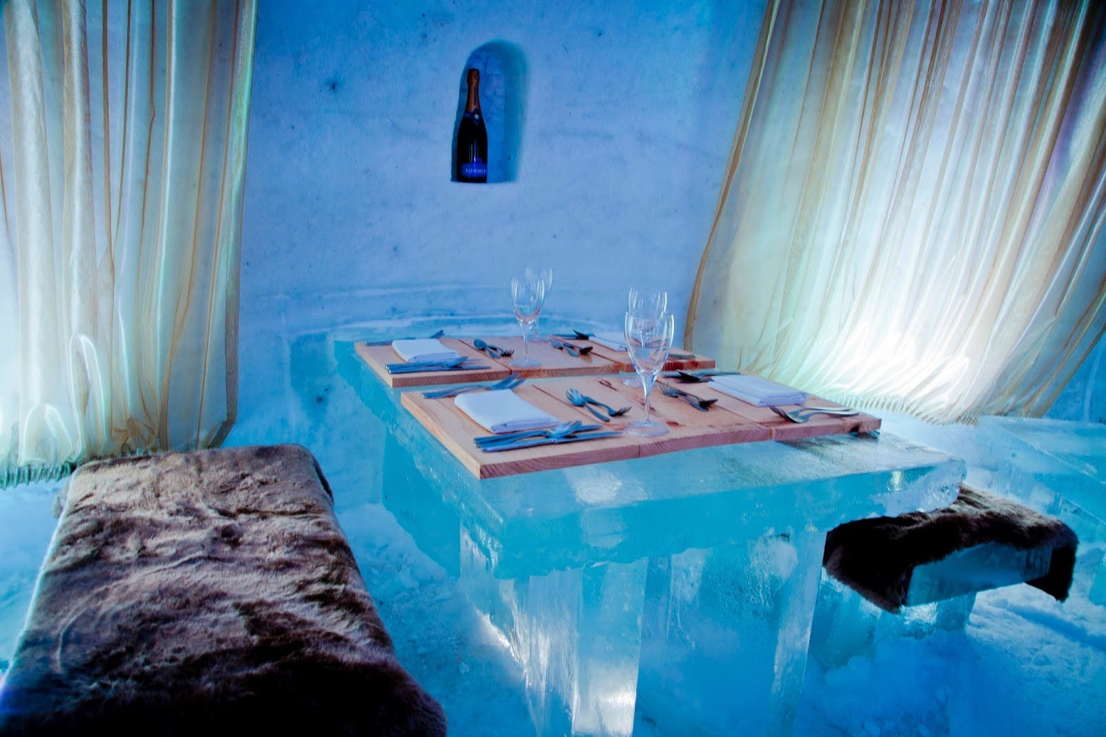 Ice Hotel Mayo Spa