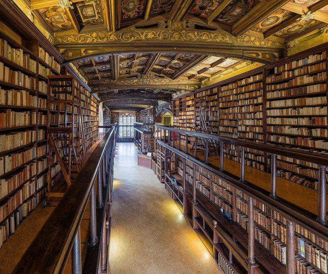 Biblioteca Duke Humfrey.