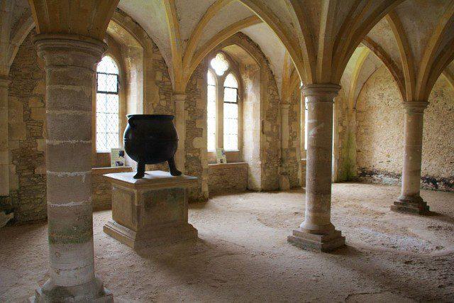 Calefactorio de la Abadía de Lacock.