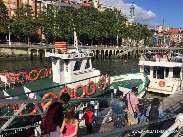 Euskadi en familia Bilbao Boats