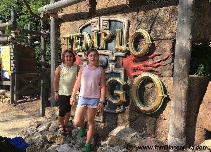 El Templo Del Fuego Portaventura En Familia Familias En Ruta